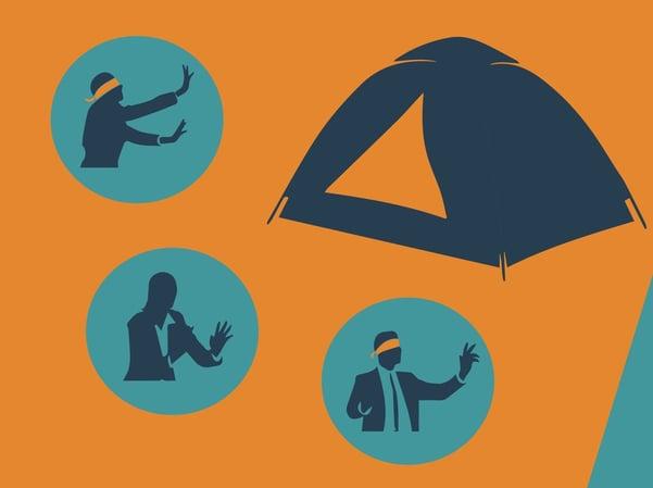 Blind Tent 600x450