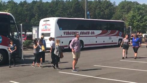 Company Arrival at Summit Ropes