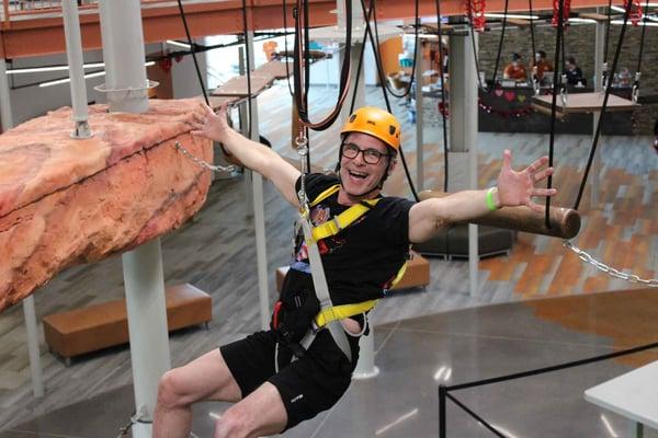Company Fun Hang Out at Summit Ropes