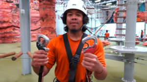 Summit Ropes Safety equipment training video.